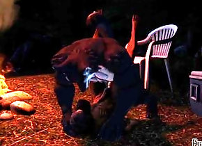 monster;ellis;werewolf;left-4-dead;sfm,Bareback;Gay;Rough Sex;Cartoon Ellis Goes Camping