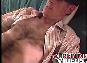 Gay Porn (Gay);Amateur (Gay);Big Cocks (Gay);Handjobs (Gay);Masturbation (Gay);Workin Men Videos (Gay) Old John enjoys...