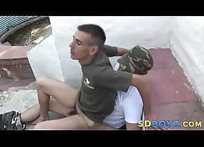 cumshot,cum,hardcore,outdoor,latin,blowjob,amateur,boots,masturbation,bigcock,cuminmouth,gay,military,bareback,hd,gay Soldier rides big...