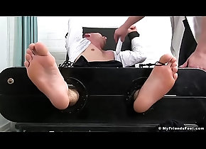 hot,sexy,fetish,gay,foot,feet,business,men,muscular,tickle,gay Friend tickles...