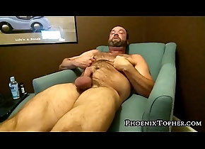 cumshot,hardcore,mature,hairy,masturbation,solo,fetish,gay,bears,phoenixtopher,gay Hairy mature bear...
