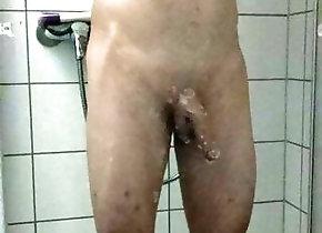Man (Gay);HD Videos Shower