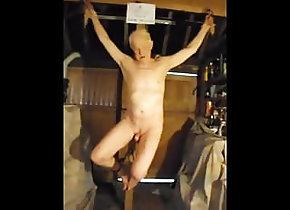 Man (Gay) slave on the cross