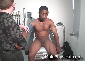 malephysical;physical;exam;examination;black;cock;doctor;medical;clinic;office;prostate;straight;handjob;cum;big-cock,Black;Muscle;Fetish;Big Dick;Gay;Straight Guys;Reality;Handjob;Jock;Cumshot Muscle Straight...