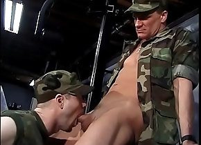 anal,blowjob,brunette,tattoo,uniform,gay,gay Queers in Army...