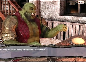 gaymer;gamer;game;video-game;game-playthrough;gay-game;fantasy;orc;orc-fuck;video-game-sex;video-game-porn;big-cock,Gay;Cartoon Medieval Times -...