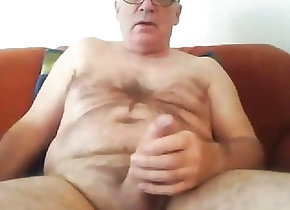 Amateur (Gay);Bear (Gay);Big Cock (Gay);Cum Tribute (Gay);Daddy (Gay);Handjob (Gay);Masturbation (Gay);Webcam (Gay) Daddy cums on cam