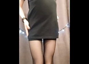 pantyhose;strip;dance;teasing;panties;spank;vertical-camera;hd-1080;butt;bulge;slim-thick;mini-dress;tights;パンスト;exclusive;verified-amateurs,Solo Male;Gay Teasing strip...