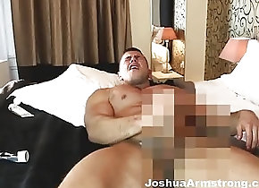 Muscle (Gay);Joshua Armstrong (Gay);HD Gays Thrusting Bed...