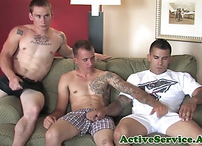 Gay Porn (Gay);Military (Gay);Active Duty (Gay);HD Gays Muscular army...