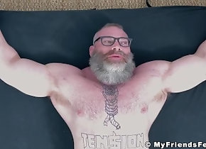 myfriendsfeet;muscle;daddy;foot-fetish;feet-fetish;fetish;feet;tickling-fetish;tickling;rick;bondage;hairy;toes;torment;hunk;beard,Muscle;Gay;Hunks;Feet Bearded huge hunk...