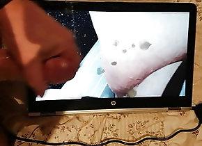 Cum Tribute (Gay);Handjob (Gay);Masturbation (Gay);HD Videos enjoying Hunnybunny