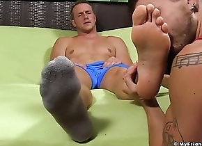 Men (Gay);Gay Porn (Gay);Hunks (Gay);HD Gays;Feet Toes;Hot Guy;Hot Feet;Licked;My Friends Feet (Gay) Hot muscular and...