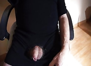 Handjob (Gay);Latino (Gay);Masturbation (Gay);Small Cock (Gay);HD Videos spermed black dress