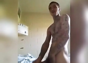 jail;cellmate,Bareback;Blowjob;Gay;Creampie;Rough Sex Prison fun