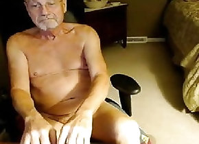Amateur (Gay);Daddy (Gay);Hunk (Gay);Webcam (Gay);Skinny (Gay) grandpa - cam show