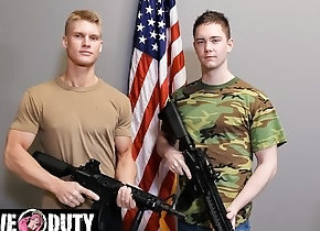 activeduty;big-cock;pounding;military-jock;gay-army;deepthroat;military-bareback;army-fuck;bareback;muscle-jock;first-time;first-gay-blowjob;army-jock;raw-fuck;blake-effortley;logan-lane,Bareback;Muscle;Blowjob;Big Dick;Gay;Reality;Jock;Military;Tattooed Men Army Cadet Sucks...