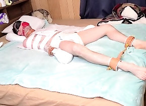 diaper;diapers;diaper-humiliation;diaper-bondage;diaper-boy,Fetish;Solo Male;Gay Diapered and Tied...