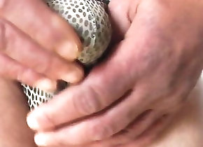 Man (Gay) sexy snake riostring