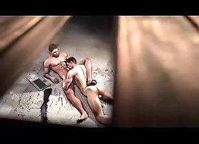 gay,chris-redfield,pierce-nivans,gay Rescue Leon part 1