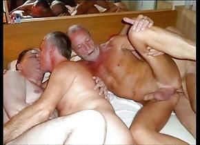 Bareback (Gay);Big Cock (Gay);Blowjob (Gay);Daddy (Gay);Gangbang (Gay);Handjob (Gay);Masturbation (Gay);Gay Grandpa (Gay);Gay Orgy (Gay);Gay Group (Gay);Gay Party (Gay);Anal (Gay);HD Videos grandpa party time