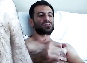 Cum Tribute (Gay);Handjob (Gay);Masturbation (Gay);Gay Muscle (Gay);Hairy Gay (Gay);Gay Webcam (Gay);Gay Cam (Gay) HANDSOME HAIRY...