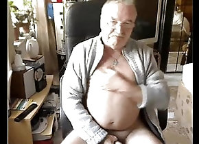 Masturbation (Gay);HD Videos grandpa cum on...