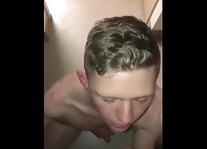 blowjob;cumshot;cumslut,Fetish;Gay Sissy boy gets...