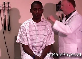 malephysical;straight;black;prostate;doctor;physical;exam;examination;muscle;cock;handjob;clinic;office,Black;Muscle;Gay;Straight Guys;Reality;Handjob;Jock;Cumshot Black Male Doctor...
