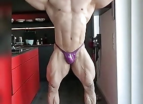 Hunk (Gay);Muscle (Gay);HD Videos purple posers