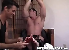 amateur,fetish,home,horny,gay,foot,feet,toes,blindfolded,apartment,gay Cute muscular...