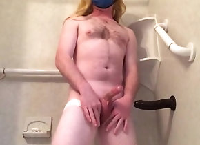 hot-blonde;crossdresser;fishnet-stockings;fishnets;bbc-anal;bbc;big-dildo;prostate-orgasm;huge-cumshot;shower-masturbation;sissy-crossdress;sissy;sissy-training;blonde-wife-bbc,Solo Male;Big Dick;Gay;Straight Guys;Amateur;Cumshot Blonde cross...