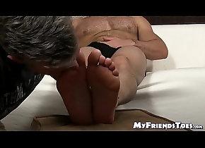 cumshot,licking,tattoo,mature,hairy,masturbation,socks,gay,massage,feet,hunk,toes,soles,handsome,foot-fetish,bare-feet,myfriendstoes,feet-lickling,gay Muscular stud...