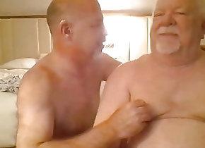 Amateur (Gay);Blowjob (Gay);Daddy (Gay);Fat (Gay);Massage (Gay);Webcam (Gay);Couple (Gay) Daddies play on cam