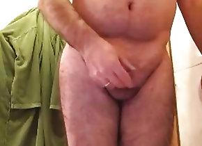 Amateur (Gay);Daddies (Gay);Masturbation (Gay) grandpa cum on...
