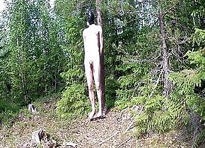 Man (Gay);HD Videos balancing on a...