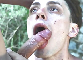 Blowjob (Gay);Gay Swallow (Gay);Gay Suck (Gay);Couple (Gay) Outdoorfun...