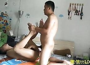 Old+Young (Gay) Chinese man fucks...