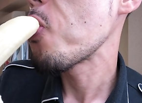 バナナ;フェラ;ゲイ;fellatio;man-fellatio;素人;日本人,Japanese;Fetish;Solo Male;Blowjob;Gay;Reality;Amateur;Verified Amateurs バナナを〇�...