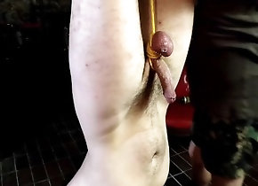 european;czech;bdsm;cbt;dildo;bondage;toys,Euro;Gay;Reality Slave in the cellar