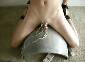 BDSM (Gay);Gay Torture (Gay) E-stim punishment