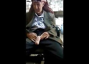 Man (Gay) Hung Arab Grandpa...