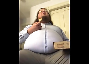 belly-stuffing;roleplay;gainer;belly-play,Fetish;Solo Male;Gay;Chubby 375 lb gainer...
