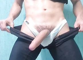 orgasm;underwear;jerking-off;butt-twunk;masturbate;wanking;male,Twink;Latino;Fetish;Solo Male;Big Dick;Gay;Reality;Handjob;Jock Big Bulge, Huge...