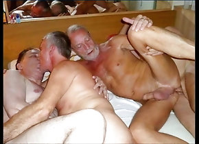 Bareback (Gay);Big Cock (Gay);Blowjob (Gay);Daddy (Gay);Gangbang (Gay);Handjob (Gay);Masturbation (Gay);Gay Grandpa (Gay);Gay Orgy (Gay);Gay Group (Gay);Gay Party (Gay);Anal (Gay);HD Videos grandpa party time
