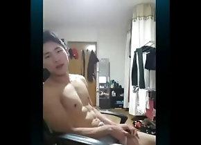 射精;手淫,Solo Male;Gay;Jock;Cumshot KOREA 4